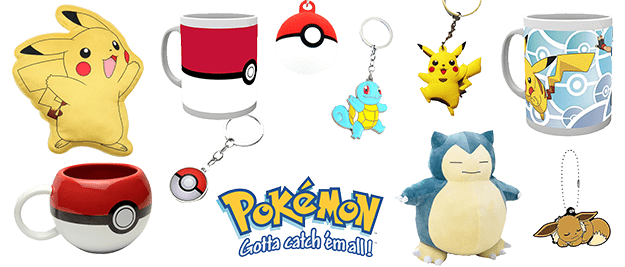 Merchandising-Pokemon
