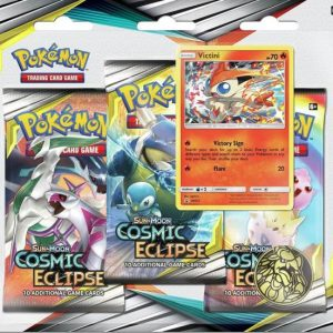 S&M12 Cosmic Eclipse 3 Pack Blister Victini