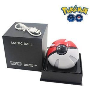 Cargador Portatil Pokeball