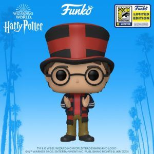 FUNKO POP HP – HARRY AT WORLD CUP EXCLUSIVO SDCC 2020