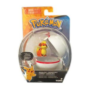 FIGURA GROWLITHE POKEBALL