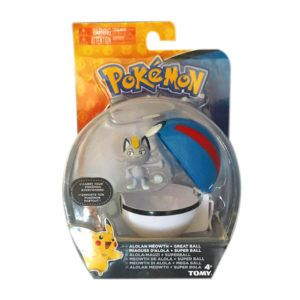 FIGURA MEOWTH ALOLA POKEBALL