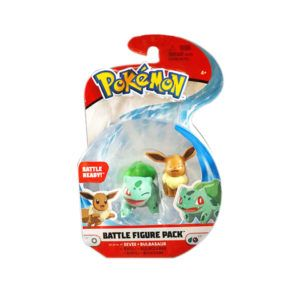 FIGURA POKEMON – EEVEE + BULBASAUR
